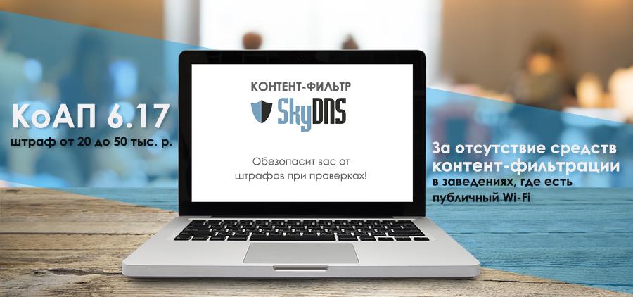 Возможности контент-фильтра SkyDNS.Wi-Fi - иллигыыюстрация